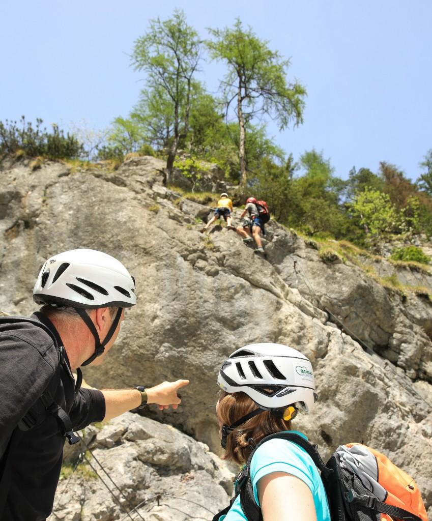 Ramsau am Dachstein - neuer Klettersteigschein