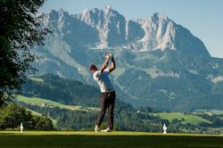 Golfshooting Kitzbühel Tourismus 2012