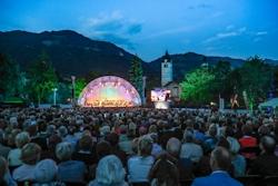 Klassik in den Alpen Kitzbühel Foto: Franz Neumayr 9.7.2016 Im Bild die Bühne